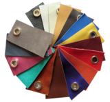 Echt leren set  tashengsels  in 5 lengtes en 15 kleuren_