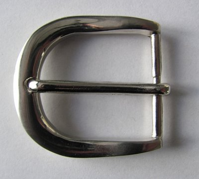 Gesp nikkel 40mm doorgang 30 mm