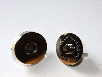 Magneetsluiting extra zwaar 18 mm nikkel