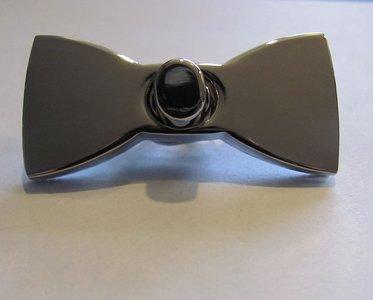 Tasslot 5 cm strik nikkel draaislot