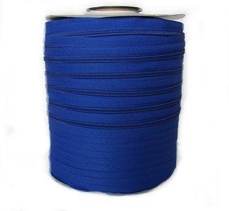 Rits 6 mm kobaltblauw  per meter