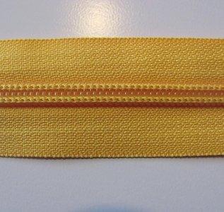 Rits 6 mm geel per meter