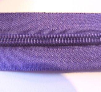 Rits 6 mm paars per meter