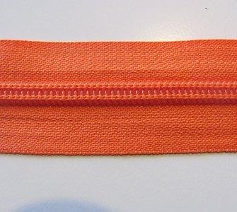 Rits 6 mm oranje per meter