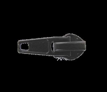 Ritsschuiver voor de  6 mm rits zwart