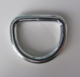 D  Ring 35 mm binnenmaat 25 gelast
