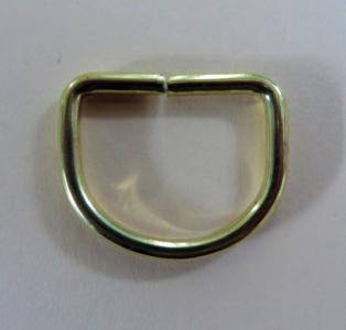 D  Ring 32 mm binnenmaat 25 MESSING