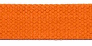 Tassenband PP zwaar band 25 mm oranje