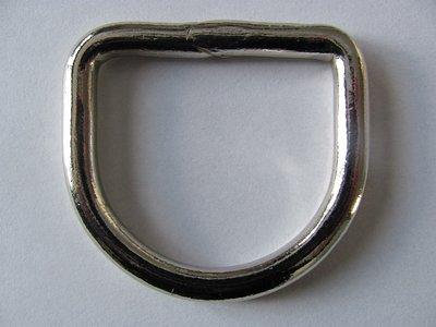 D  Ring gelast de  53 mm binnenmaat 40