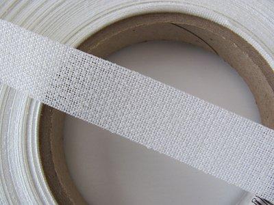 Stug opstrijkbare versteviging voor o.a. schouderbanden 2 cm breed