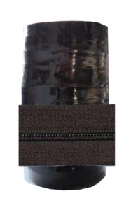 Rits 6 mm zwart per rol van 50 meter