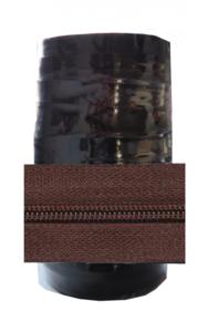 Rits 6 mm bruin per rol van 50 meter