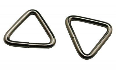 Driehoek ring 22 mm binnenmaat 18 mm