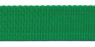 Tassenband PP zwaar band 25 mm grasgroen