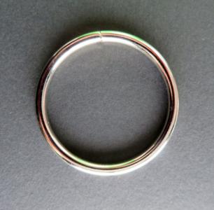 Ring 50 mm binnenmaat 40 mm verchroomd