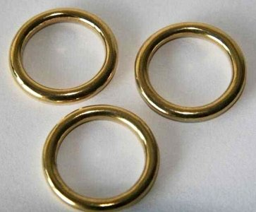 Ring messing 32 mm binnenmaat 24 mm