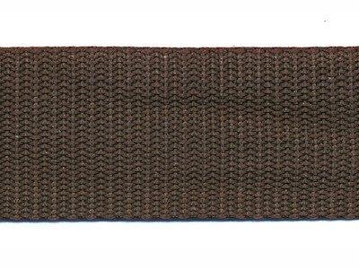 Tassenband PP zwaar band 30 mm donkerbruin