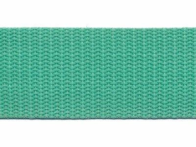 Tassenband PP zwaar band 25 mm mint Nieuw