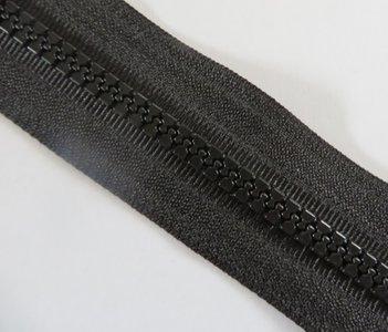 NIEUW blokrits 8 mm zwart per meter