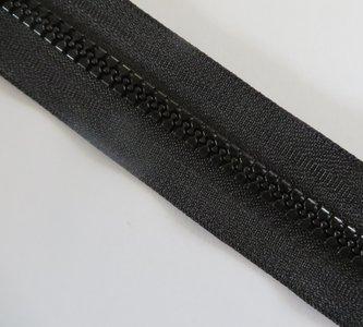 NIEUW blokrits 6 mm zwart per meter