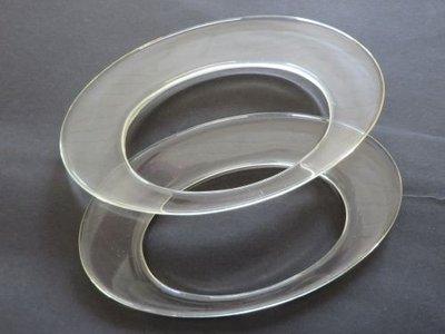 Tashengsels  doorzichtig 18,5 cm lang