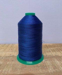 Industrie naaigaren kobaltblauw dikte 40